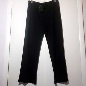 Ralph Lauren Black Athleisure Lounge Pants NEW!